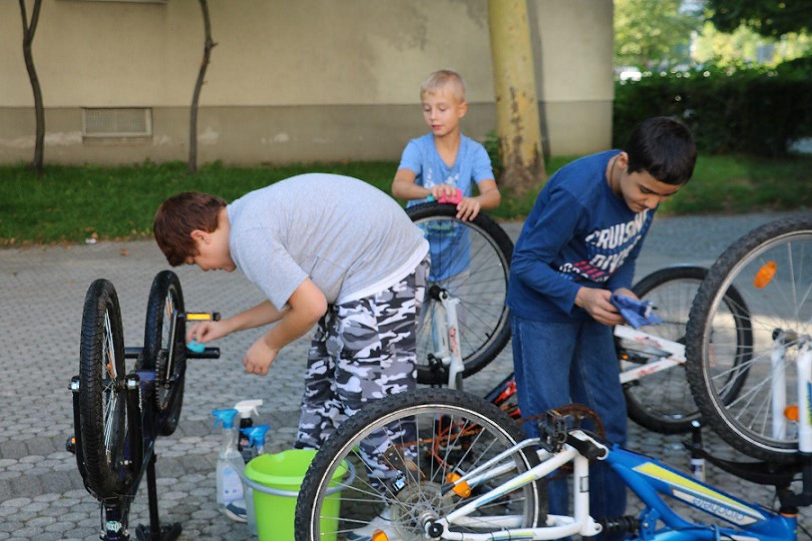 Fahrradwerkstatt - Kindertreffpunkt e.V. München-Perlach